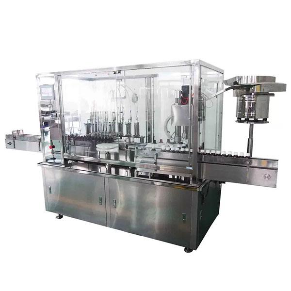 Automatische Abfüll- und Verschließmaschine mit 8 Kopfsirup für die pharmazeutische Produktionslinie