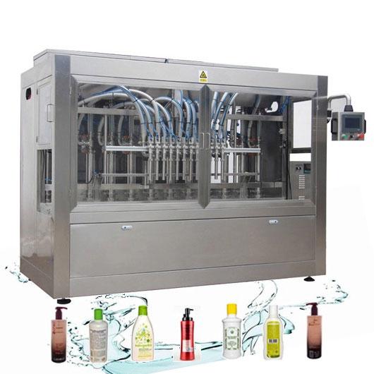 Korrosionsbeständige automatische Flüssigkeitsfüllleitung Waschmittelfüllmaschine