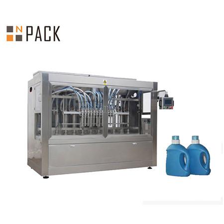 Automatische Flüssigwaschmittel-Duschgelflasche Flüssigkeitsfüllmaschine